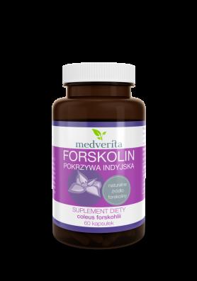 Forskolin - pokrzywa indyjska - 60 kapsułek