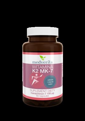 Witamina K2 MK-7 (menachinon-7) 100µg - 60 kapsułek