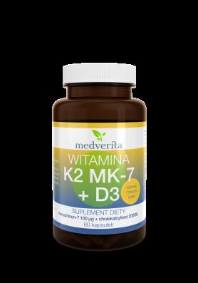 Witamina K2+D3  60 kapsułek
